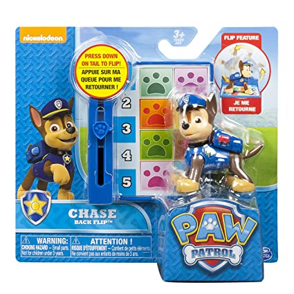 452f07de8c8 Amazon.com: Nickelodeon, Paw Patrol - Action Pack Pup & Badge - Chase: Toys  & Games