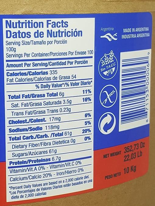 Amazon.com : Dulce de Leche Repostero 10 Kilo Grams : Grocery & Gourmet Food