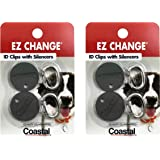 Coastal Pet Products EZ Change Dog ID Clip with Silencer | 2 ID Clips + 2 Silencers per Pack
