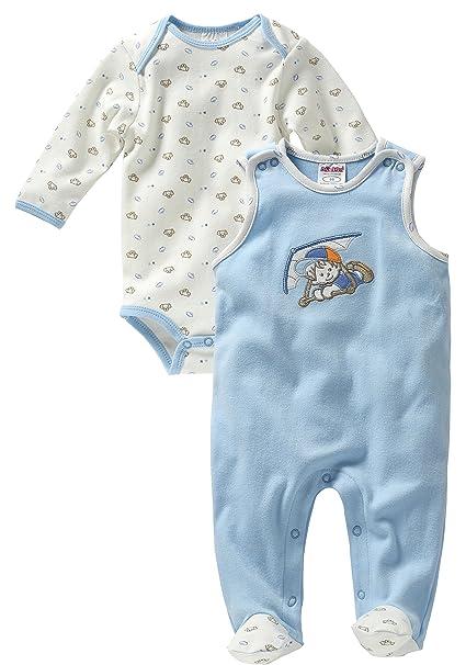 Schnizler, Pelele para Dormir para Bebés, Azul, 56: Amazon.es: Ropa y accesorios