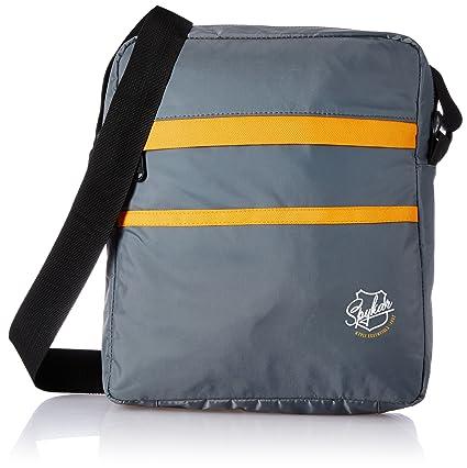 Spykar Synthetic 31 cms Grey Messenger Bag (SPY BG 2AF06)  Amazon.in  Bags ab0d443135309