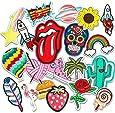 Patch Sticker, Muscccm 20 pcs Parches Ropa Termoadhesivos DIY Coser o Planchar en Los Parches Apliques para Ropa Camiseta Jeans Sombrero Pantalon Bolsas
