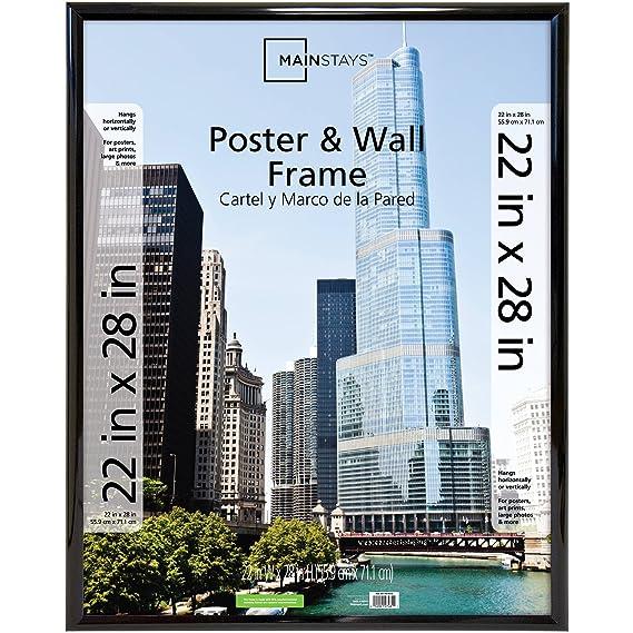 Amazon.com: Mainstays Trendsetter Poster Frame 22\