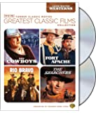 TCM Greatest Classic Films Collection: John Wayne Westerns (The Cowboys/Fort Apache/Rio Bravo/The Searchers)
