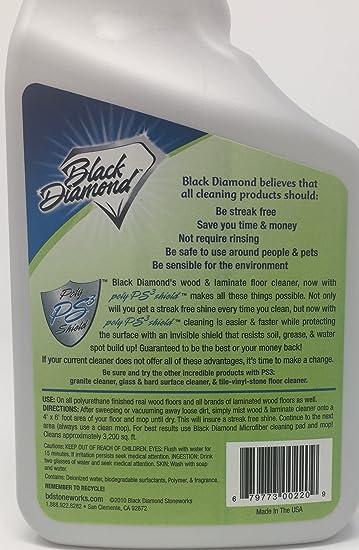 Amazon Black Diamond Wood Laminate Floor Cleaner For