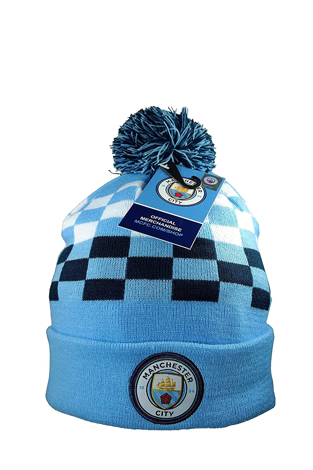 Manchester City F.C. Authentic Official Licensed Product Soccer Beanie a54dfb837c4
