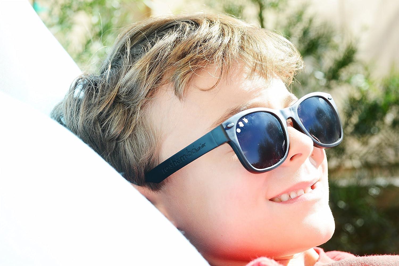 Roshambo Baby Lunettes de soleil incassables UV400-5-12ans B/éb/é Unisexe
