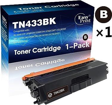 Toner Cartridge TN436 BK C//M//Y For Brother HL-L8260CDW MFC-L8610CDW DCP-L8410CDW