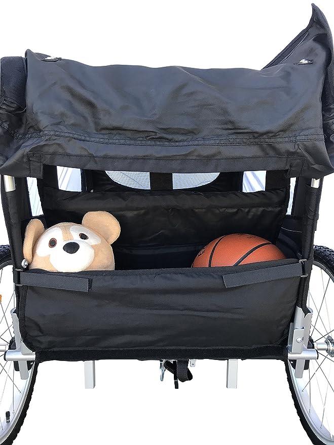 Amazon.com: Booyah Cochecito de bebé para bicicleta y ...
