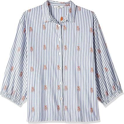 TALLA XS. Lee Bell Sleeve Shirt Blusa para Mujer