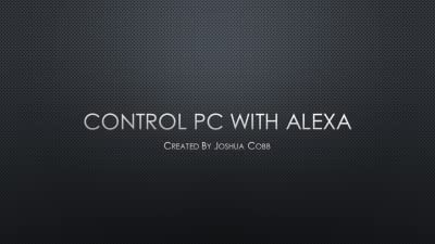 Control PC with Alexa [Download]
