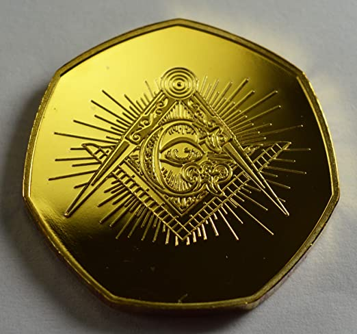 Álbumes de Monedas conmemorativos masónicos de Oro de 24 Quilates ...