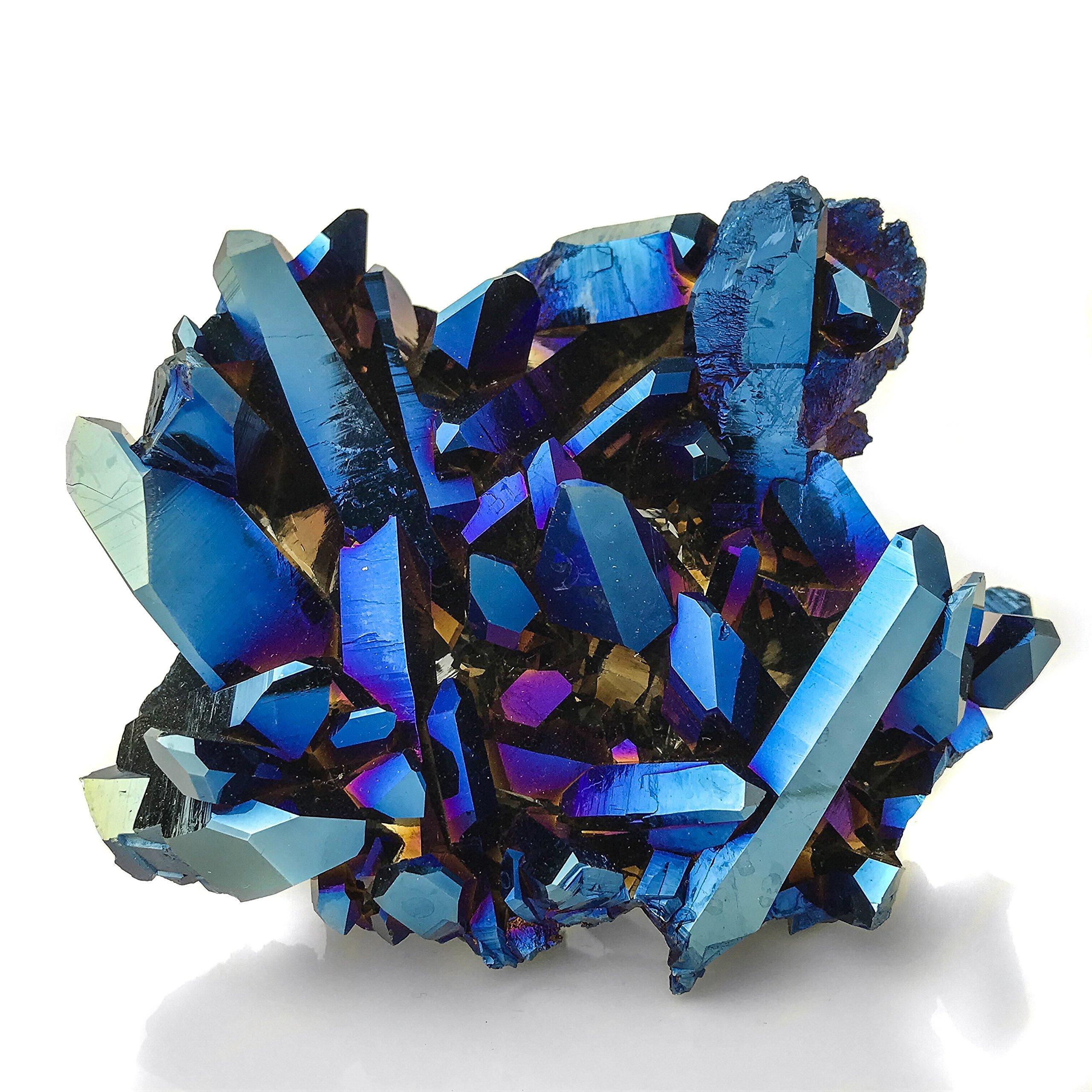 Cobalt Aura Quartz by Astro Gallery Of Gems (Image #3)