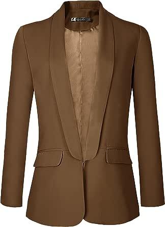Urban CoCo Women's Open Front Office Blazer Jacket