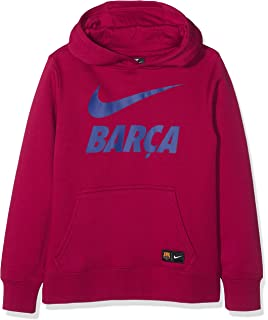 : Nike 2016 2017 Barcelona Core Hooded Top