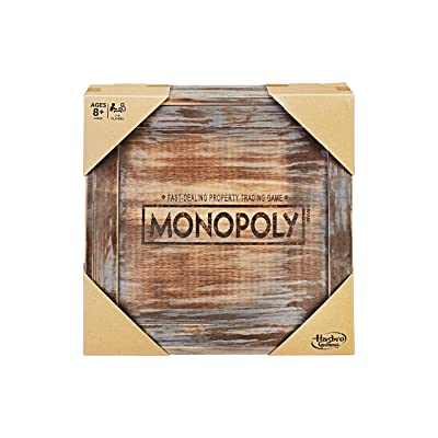 Monopoly - Rustic Series Board Game: Toys & Games