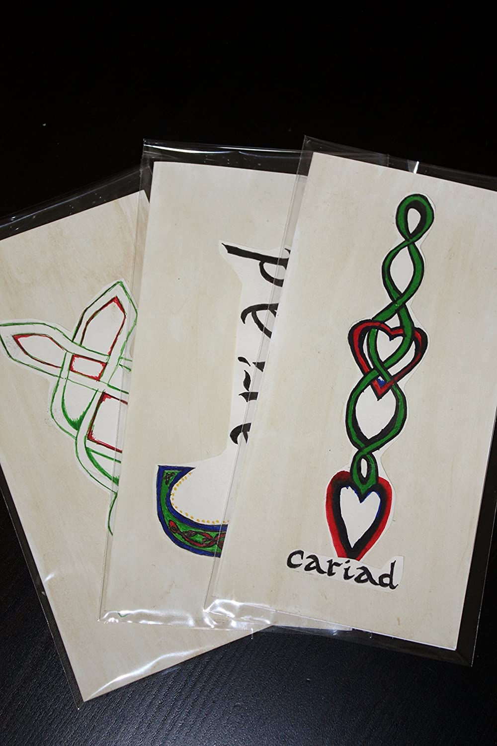 Celtic Knot Welsh Greetings Cards Amazon Handmade