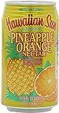 Hawaiian Sun Nectar, Pineapple-Orange, 11.5-Ounce (Pack of 24)