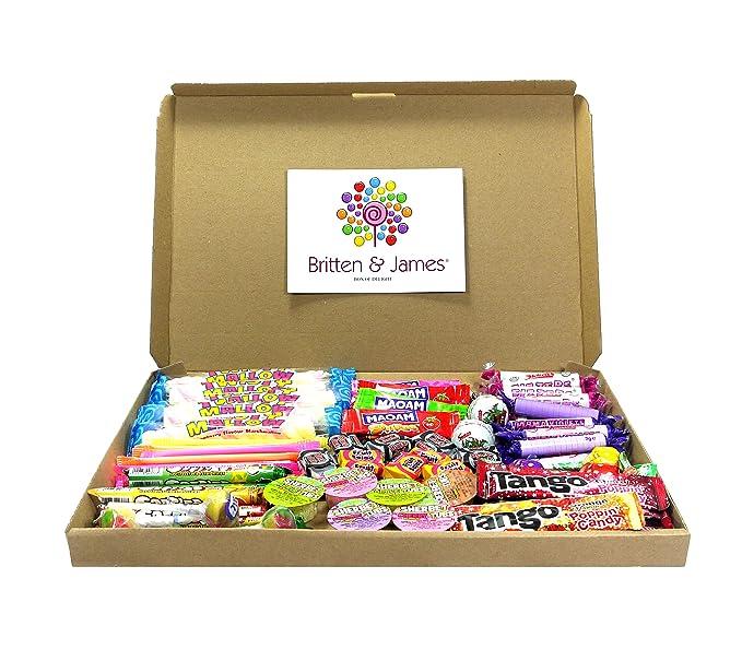 Britten & James® Caja de 100 Golosinas Variadas para Niños. Ideal para Bolsas de