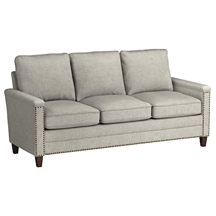 Ravenna Home Raymond Casual Nailhead Trim Sofa, 76
