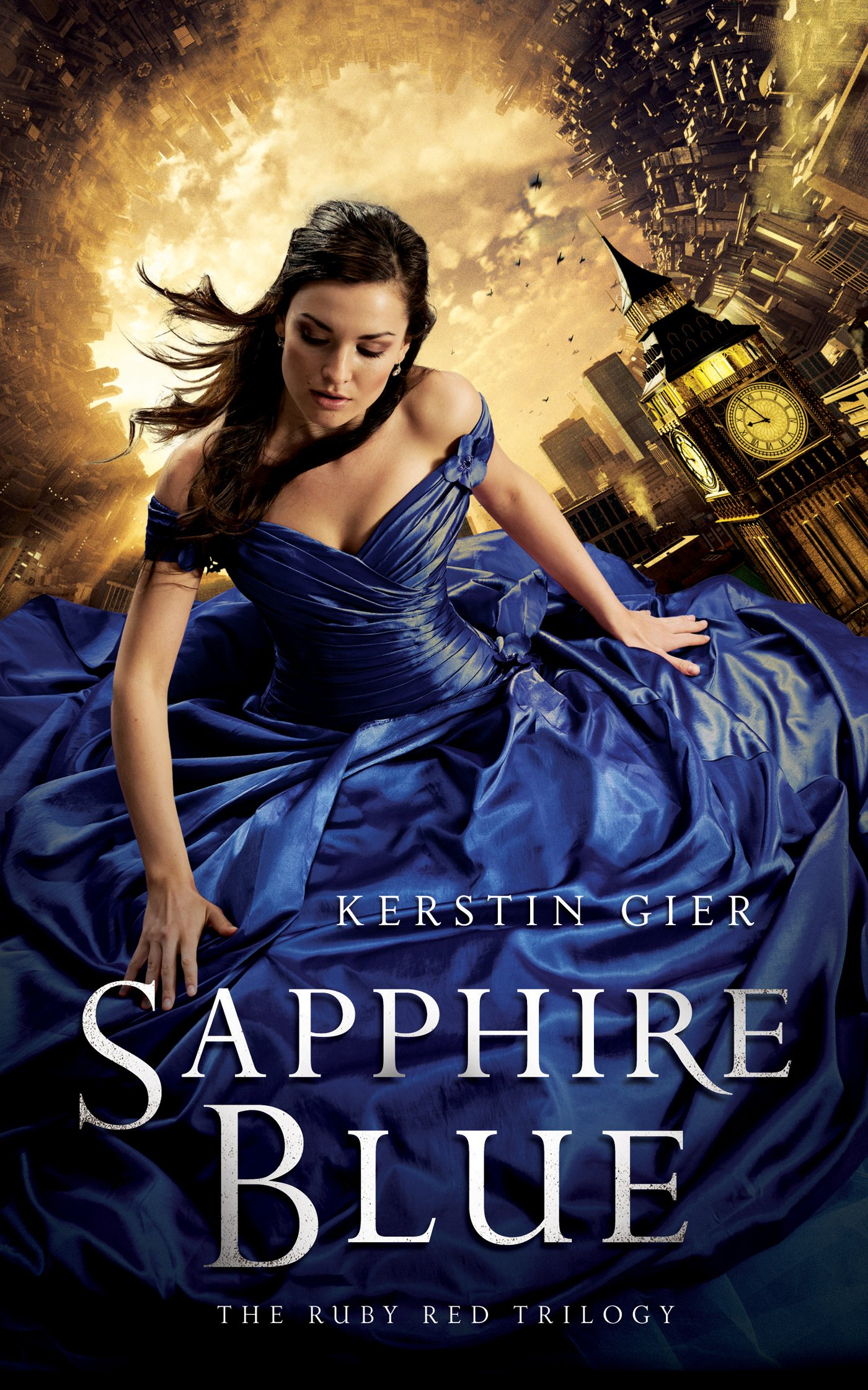 Sapphire Blue (the Ruby Red Trilogy): Kerstin Gier, Anthea Bell:  9781250034168: Amazon: Books