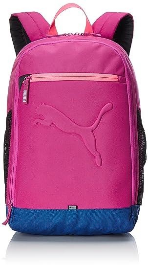 Mochila Puma Buzz, color rosa/morado, tamaño 46 x 38 x 3 cm: Amazon.es: Deportes y aire libre