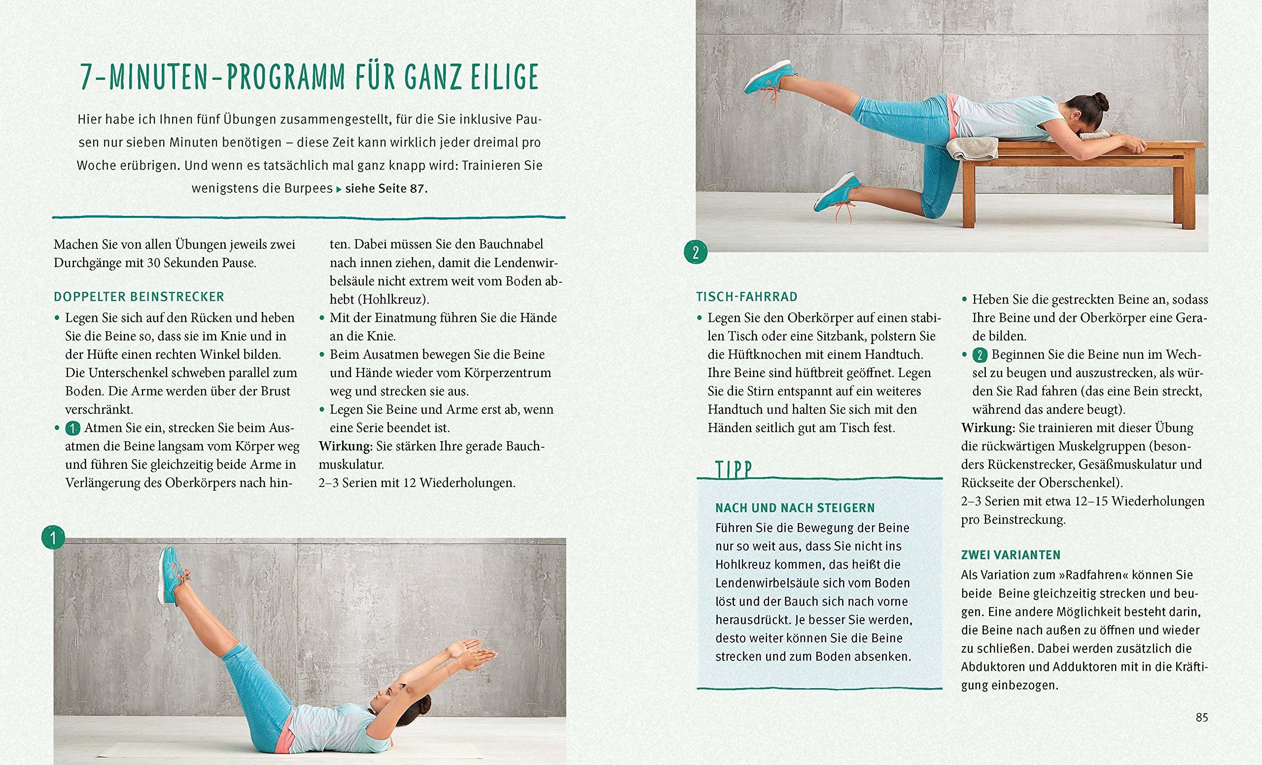 Das Fitness-Minimalprogramm: Kleiner Aufwand - große Wirkung GU ...