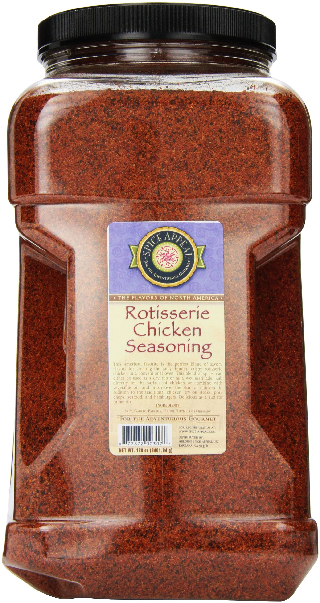 Spice Appeal Rotisserie Chicken Seasoning, 7.5 lbs