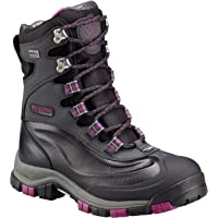 Columbia Women's Bugaboot Plus Titanium Omni-Heat Outdry Boot (Black, Intense Violet )