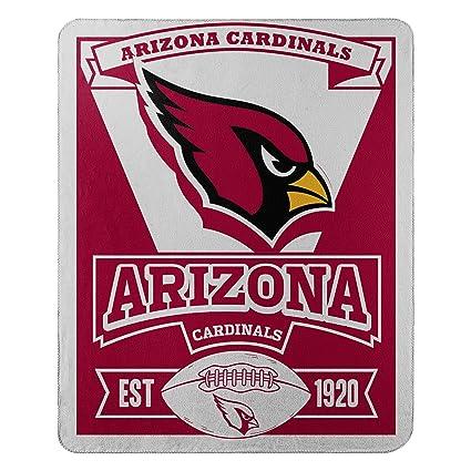 249feec9b78 The Northwest Company NFL Arizona Cardinals Marque Printed Fleece Throw