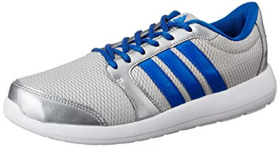 adidas Men's Altros M Silver and Blue Running Shoes - 11 UK/India (46