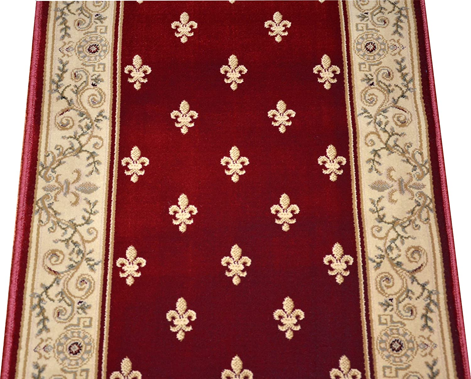 amazoncom dean regal red carpet rug hallway stair runner purchase by the linear foot industrial u0026 scientific