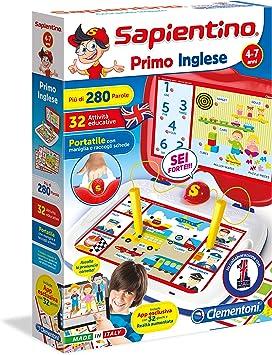Clementoni Sapientino Inglese Niños Juego de Mesa de Aprendizaje - Juego de Tablero (Juego de Mesa de Aprendizaje, Niños, Niño/niña, 4 año(s), 7 año(s), Interior): Amazon.es: Juguetes y juegos