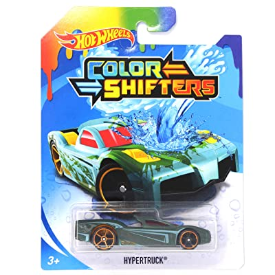 Hot Wheels Color Shifters Hypertruck: Toys & Games
