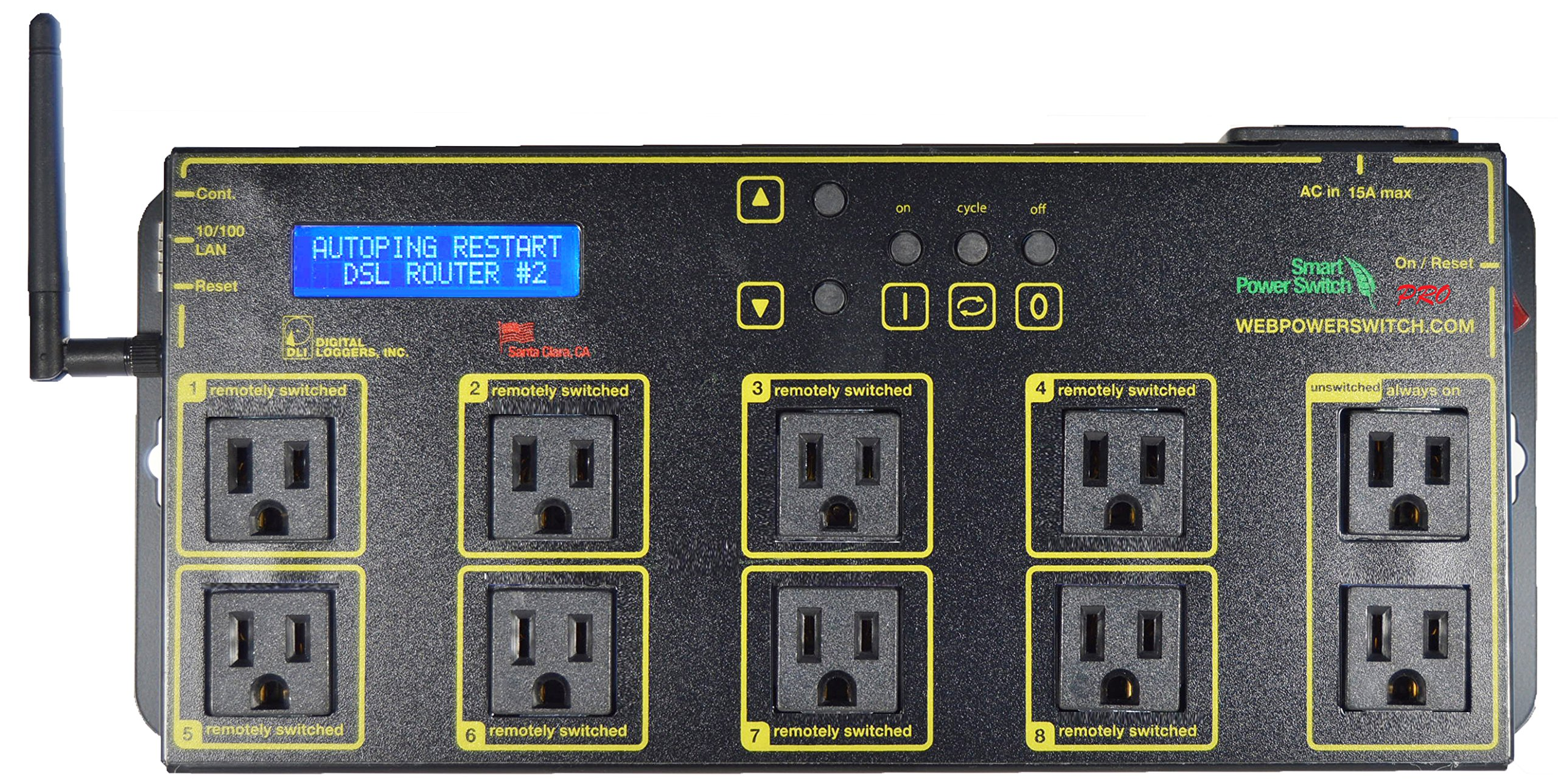 Web Power Switch Pro Model