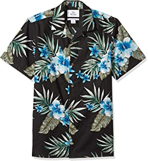 40cf2326f Amazon Brand - 28 Palms Men's Standard-Fit 100% Cotton Tropical Hawaiian  Shirt
