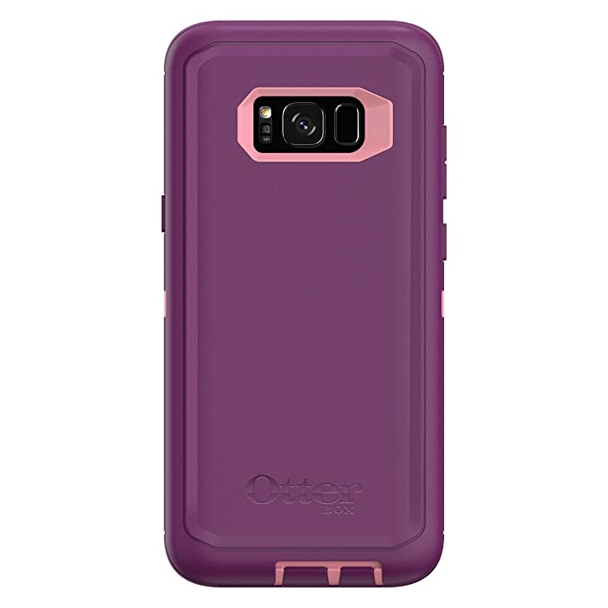 OtterBox Defender Series SCREENLESS Edition for Samsung Galaxy S8+ -  Frustration Free Packaging - Vinyasa (Rosmarine/Plum Haze)