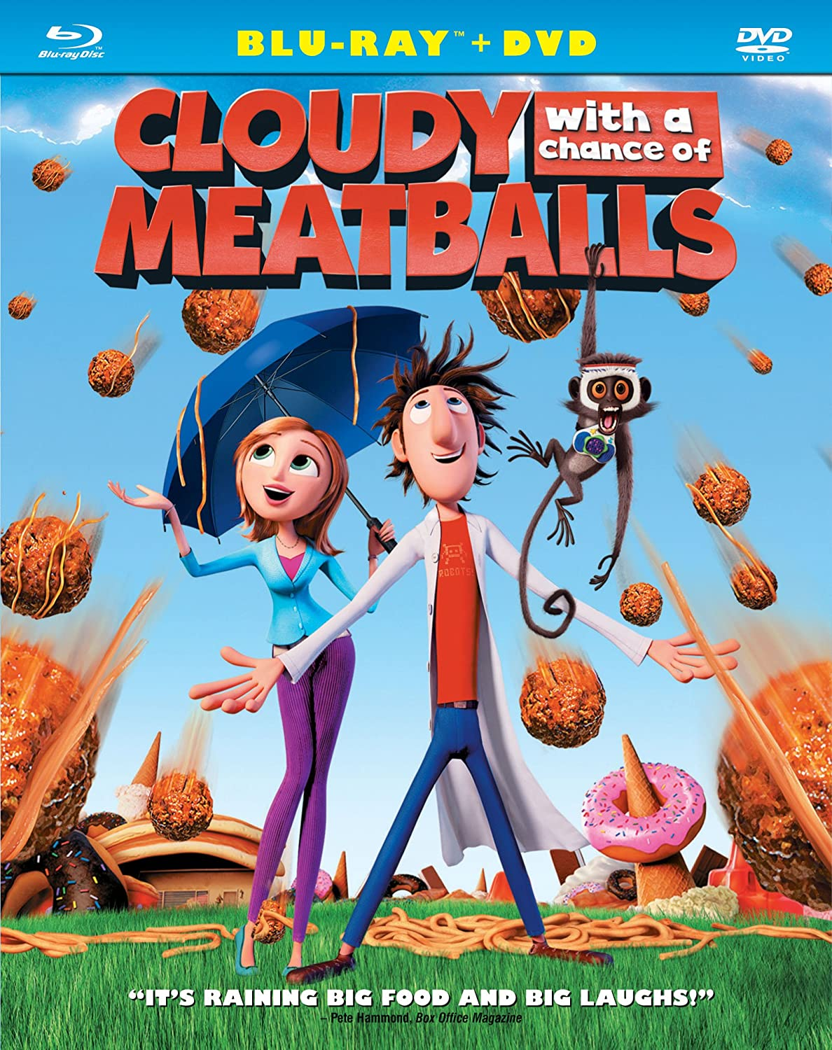 Amazoncom Cloudy with a Chance of Meatballs Bluray Anna