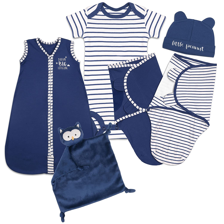 3a14e476d Amazon.com  Baby Layette Gift Set - Navy Blue Sleep Bag