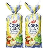 Real Foods Original Organic Corn Thins, 5.3 oz, 2 pk