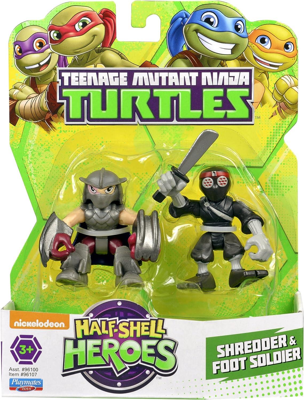 Half-Shell Heroes Teenage Mutant Ninja Turtles TMNT FISHFACE LEO SHREDDER Figure