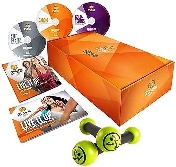 Zumba Fitness Gold 3 DVD avec une paire de bâtonnets tonifiants ... 5004ff6b661