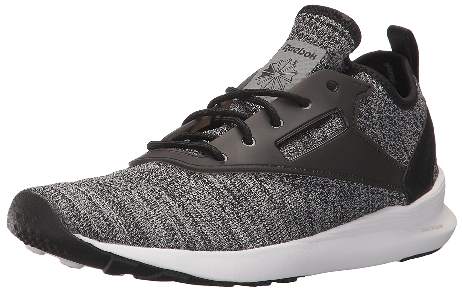Black Flint Grey Steel Wh 10 D(M) US Reebok Mens Zoku Runner M Sneaker