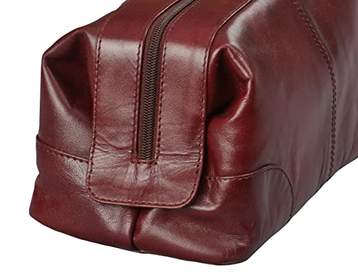 5706927578 Buy Mens Toiletry Bag Dopp Kit by Bayfeild Bags-Leather Vintage Shave Kit  Travel   Medicine Bag (10x5x5) (burgandy) Online at Low Prices in India -  Amazon. ...