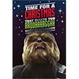 "Hallmark-Biglietto di Natale di Star Wars ""rrooaarrghh-Medium"