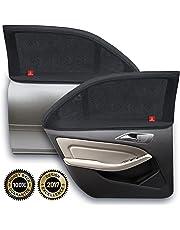 ROYAL RASCALS | Chaussette pour vitre x2 │PROTECTION 40+ contre les rayons UV nocifs │Couvre la vitre à 100% │Taille universelle pour toutes les voitures │Anti-éblouissement | Matériel haute qualité