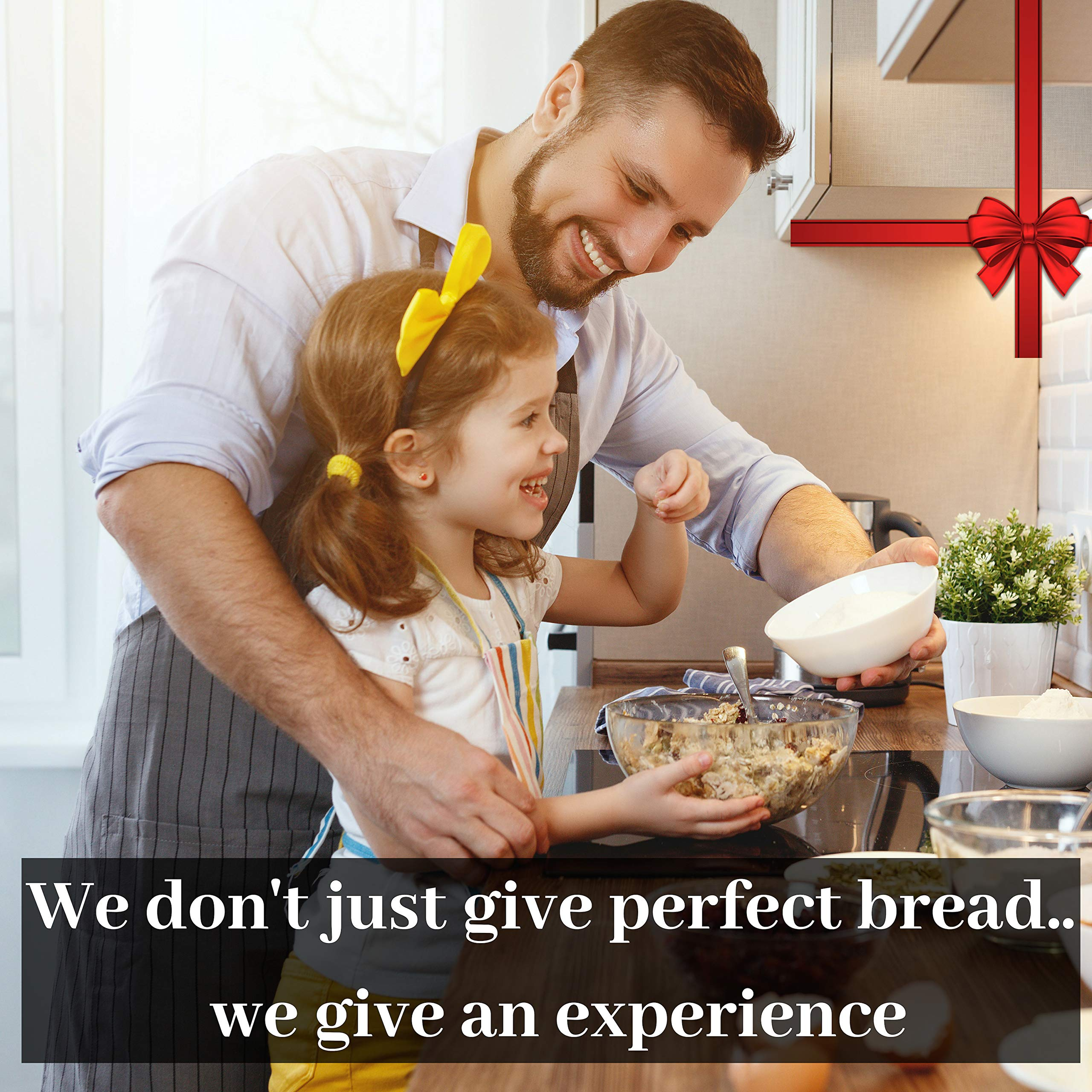 KIT 10 Inch Bread Basket Sourdough Starter - Banneton Proofing Basket, Dough Scraper, Bread Lame, Liner & FREE EBOOK - Bread Proofing Basket for Bread Baking Supplies, Bread Making Tools by PremiumBake (Image #7)