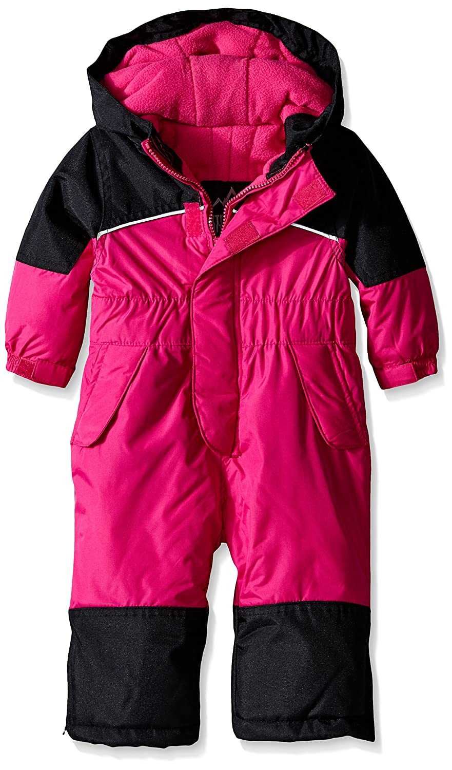 iXTREME baby-girls Baby One-piece Snowmobile Coverall Berry 12 Months XO68018