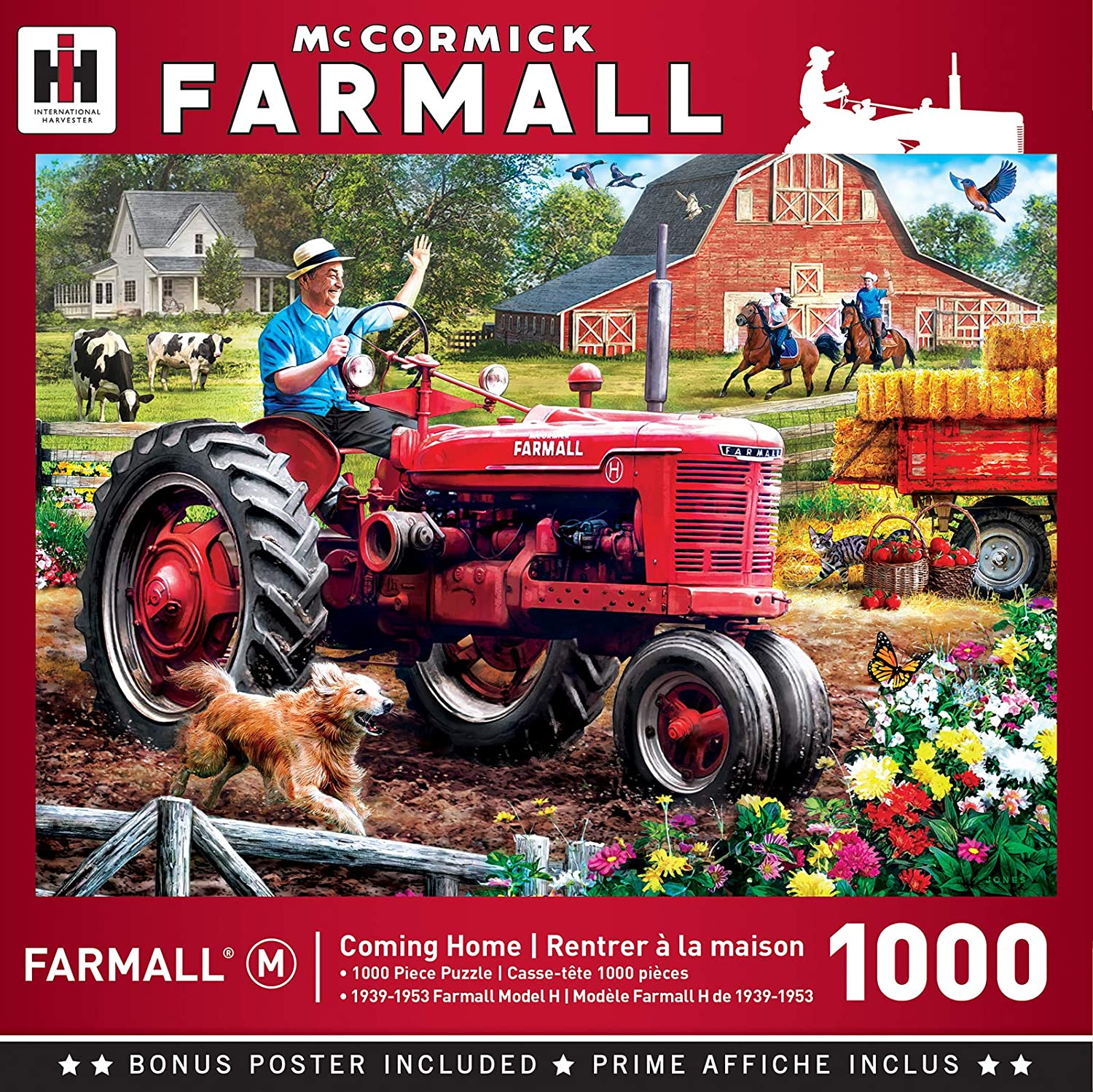MasterPieces Farmall - Coming Home 1000-Piece Jigsaw Puzzle