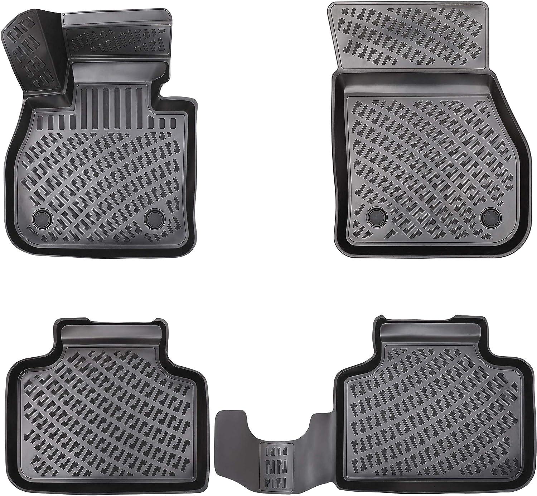 Elmasline Design 3d Gummimatten Set Für Bmw 2er Active Tourer F45 Ab 2014 Extra Hoher 5cm Rand Auto